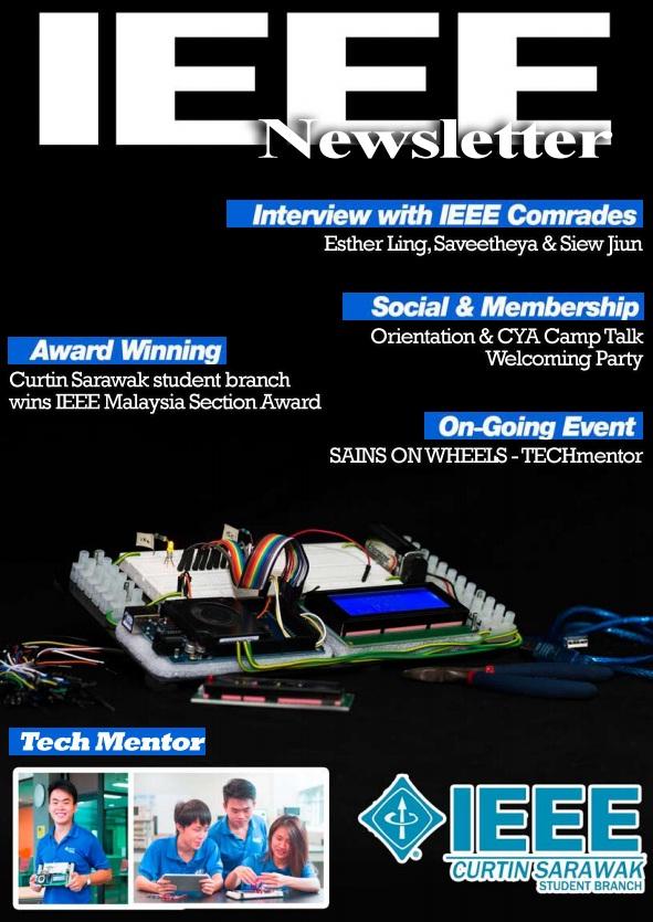 IEEE Student Newsletter Semester 1 2015