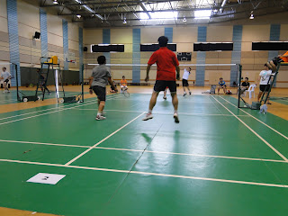 Staf-Student-Badminton-Competition