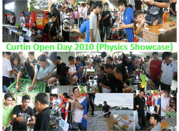 Open Day 2010 collage