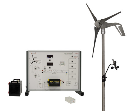 Wind Power Generator Trainer from Elettronica Veneta
