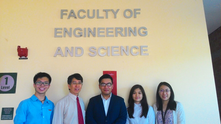 Curtin Sarawak team competes in finals of IChEC 2016 debate competition
