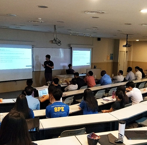 Curtin Malaysia petroleum engineering students present project theses to industry experts