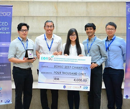 Curtin Malaysia students champs in International Enhanced Oil Recovery Simulation Competition