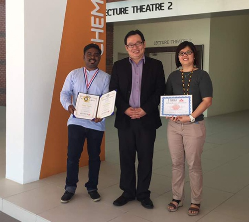 Curtin Malaysia postgraduate student's innovative idea wins gold medal at World Invention and Innovation Contest