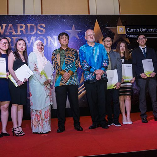 Curtin Malaysia students receive industry awards for excellence