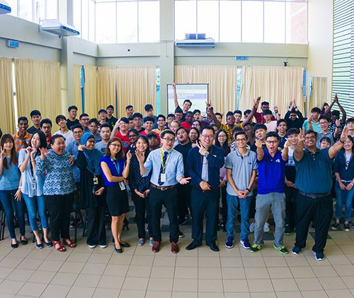 Orientation programme ensures new foundation students get a good start at Curtin Malaysia's Faculty of Engineering and Science