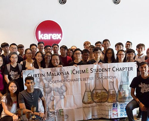 Industrial visits part of student experience for Curtin Malaysia engineering students