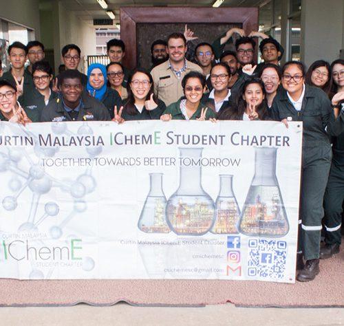 Curtin Malaysia students visit Sakura Ferroalloys